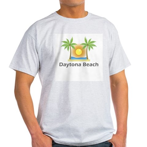 Daytona Beach  Florida Light T-Shirt by CafePress