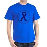 Navy Blue Ribbon T-Shirt