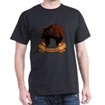 Weathered Vintage Canadian Grizzly Bear Cr T-Shirt