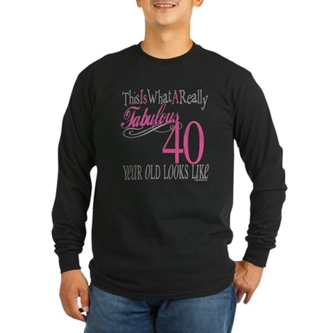 Buy 40th birthday gifts - 40th Birthday Gifts Long Sleeve T-Shirt