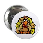 "Turkey Feathers 2.25"" Button (100 pack)"
