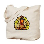 Turkey Feathers Tote Bag
