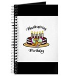 Thanksgiving Birthday Journal