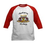 Thanksgiving Birthday Kids Baseball Jersey