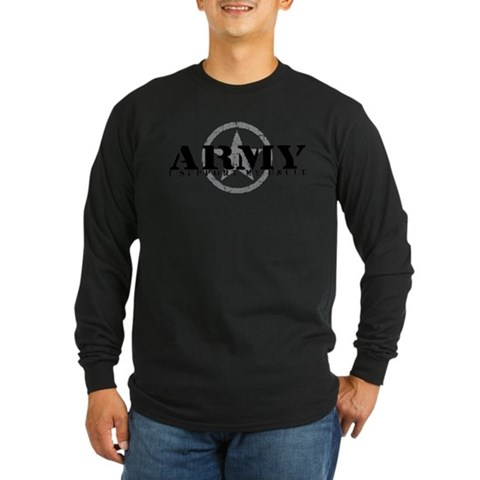 Army - I Support My Uncle Military Long Sleeve Dark T-Shirt by CafePress