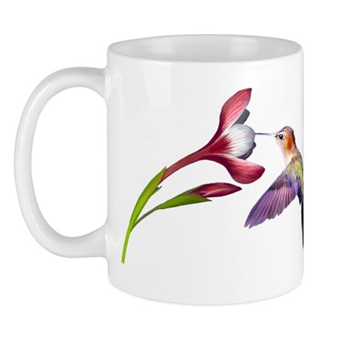 Hummingbird  Nature Mug by CafePress