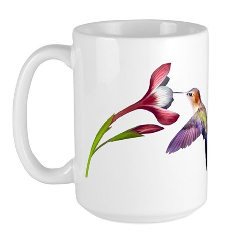 Hummingbird  Nature Large Mug by CafePress