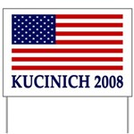 Kucinich 2008 Flag Yard Sign