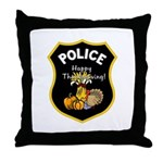 Police shield badges look great personalized on our gift ideas for law enforcement officers! Holiday theme gifts for police departments including pillows, mugs, watches, decals, coffee and travel mugs for officers and their family members.  Click to browse our Thanksgiving police gift ideas...
