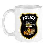 Thanksgiving Police Mug