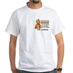 Orange For Fighters Survivors Taken White T-Shirt