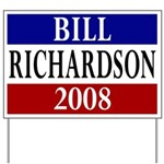 Bill Richardson 2008 Yard Sign