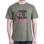 I Wear Pink Personalized T-Shirt