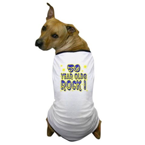 50 Year Olds Rock   Baby Dog T-Shirt by CafePress
