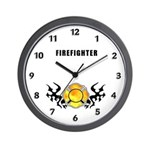 Wall clocks for your firefighter family home, fire department or office! Personalized gift clocks for firefighters in many different styles.  Click to start browsing our firefighting themes.......