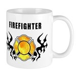 Firefighter's Tattoo personalized design on gift mugs, t-shirts, matching mousepads and gift clocks! Check out our firefighter gift collections here........