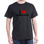 I Love Enamelwork T-Shirt
