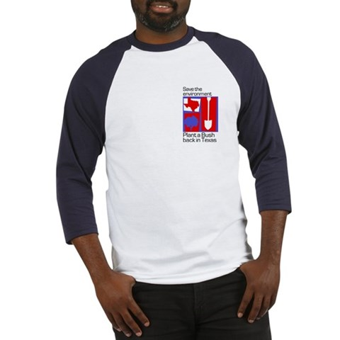 . Save environment, plant a Bus Funny Baseball Jersey by CafePress