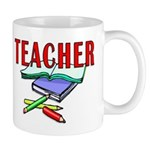 Teachers Books Mug