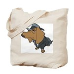 Male Dachshund Tote Bag