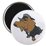 "Male Dachshund 2.25"" Magnet (100 pack)"
