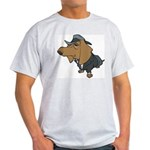 Male Dachshund Light T-Shirt