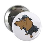 "Male Dachshund 2.25"" Button (100 pack)"