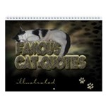 "Wall Calendar ""Cat Quotes illustrated"""