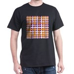 Purple & Orange Interlocking Stripes T-Shirt
