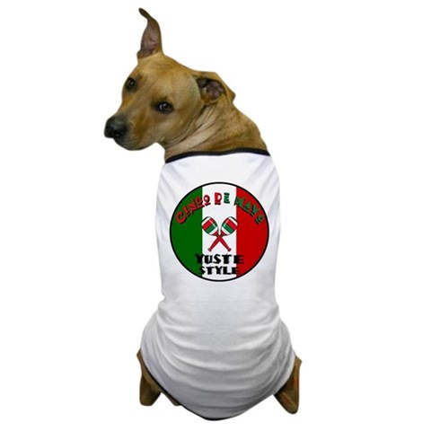 Yuste Cinco De Mayo Mexican Dog T-Shirt by CafePress
