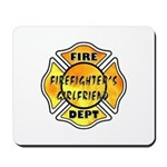 Firefighters Girlfriend Mousepads, mousepads for firefighters and their family members!  Mousepads are durable, look great on any desk and personalized mouse pads have new firefighter theme designs!  Click to browse our firefighter's girlfriends gift ideas.....