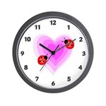 Ladybug clocks and gift ideas for the personalized gift solution