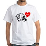 Blackmouth Cur White T-Shirt