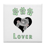 Cat Lovers Tile Coaster