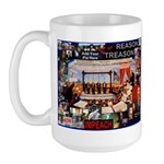 IMPEACH - add U here Large Mug