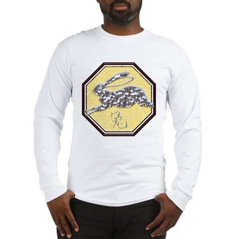 Year of the Rabbit  Birthday Long Sleeve T-Shirt by CafePress