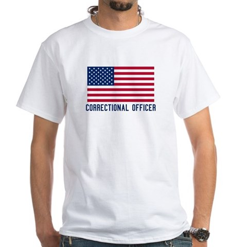 Product Image of Ameircan Correctional Officer White T-Shirt