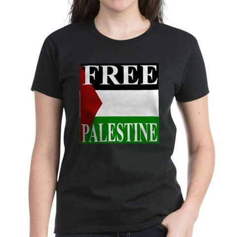 Product Image of Palestine Women's Dark T-Shirt