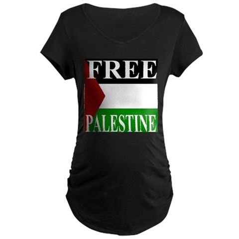 Product Image of Palestine Maternity Dark T-Shirt