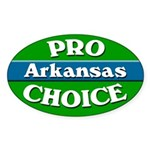 Pro-Choice Arkansas Bumper Sticker
