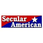 Secular American Bumper Sticker