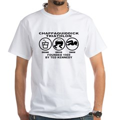 Chappaquiddick Triathlon White T-Shirt