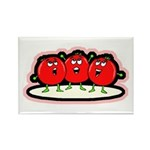 Tomato Friends Rectangle Magnet