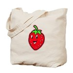 Happy Strawberry Tote Bag