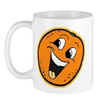 Happy Orange Mug