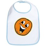 Happy Orange Bib