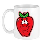 Silly Apple Mug