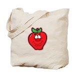 Silly Apple Tote Bag