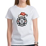 Christmas Firefighters Women's T-Shirt