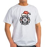 Christmas Firefighters Light T-Shirt